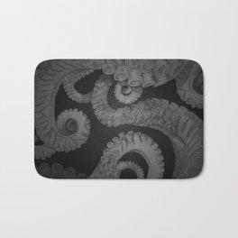 Octopus BW. Bath Mat