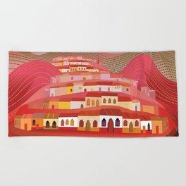 Michoacan Beach Towel