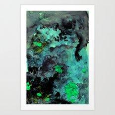 galaxy slime Art Print