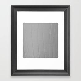 Strokes white Framed Art Print