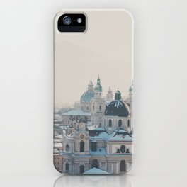 winter blues ... iPhone Case