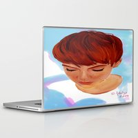 ginger Laptop & iPad Skins featuring Ginger by Adelys