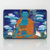 medicine iPad Cases featuring Medicine Buddha by Kalsang Dawa