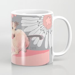 Dog in a chair #3 Italian Greyhound Coffee Mug