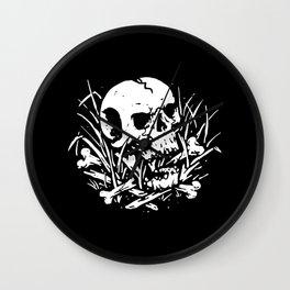 Dark Nature Wall Clock