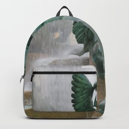 Fountain at Logan Square Backpack