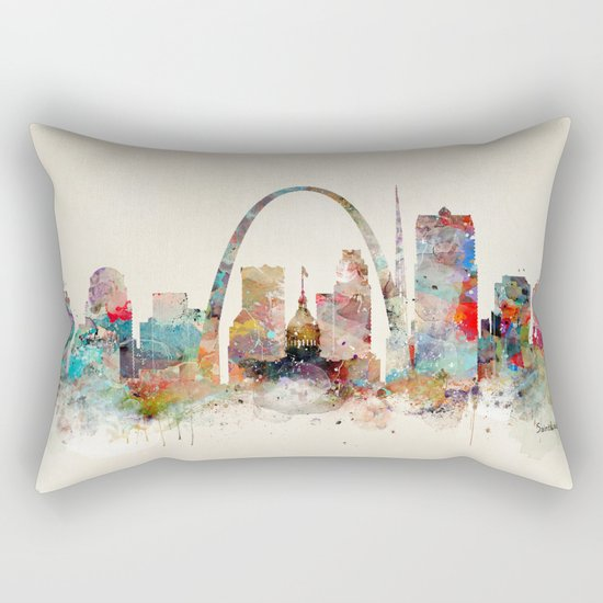saint louis missouri Rectangular Pillow
