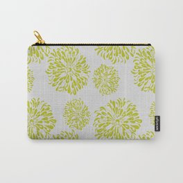 Green Zinnias Carry-All Pouch