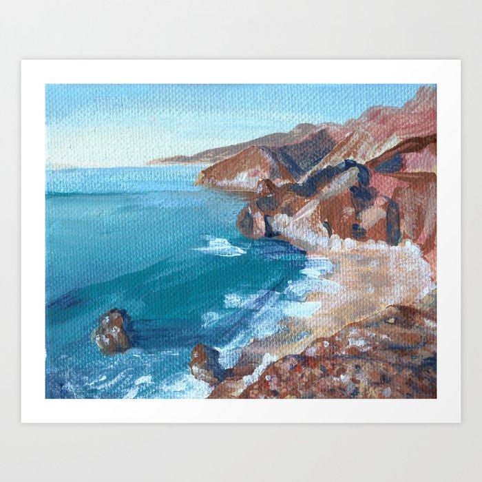 Big Sur No.1 Art Print