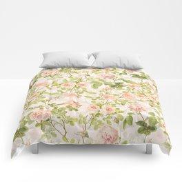 Vintage & Shabby Chic - Summer Rose Garden Comforters