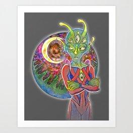 Alien 2 Art Print