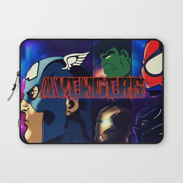 Heroes take a Stand Laptop Sleeve