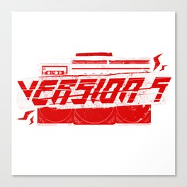 [v5] Ghetto Blaster Canvas Print