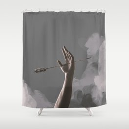 One of his kisses Shower Curtain