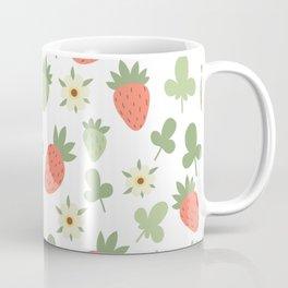 Stawberry Pattern Coffee Mug