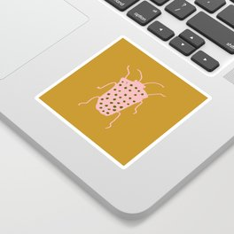 arthropod mustard Sticker