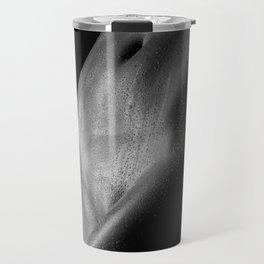 Naked woman body sculpture. Fine art photo of female body Travel Mug