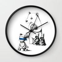 birthday Wall Clocks featuring Birthday by Freeminds