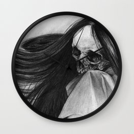 Incorporeal Void Wall Clock