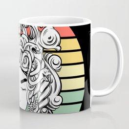 Sunset Gorgon / Stone, The World Is Stone Coffee Mug