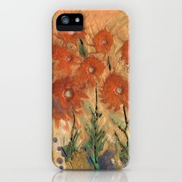 Sunny meadow iPhone Case