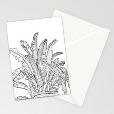 Palm Beach - Black and White Stationery Cards