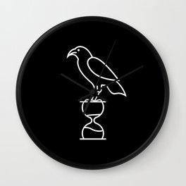 Raven Lodge Wall Clock