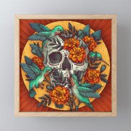 Dia de los Muertos Framed Mini Art Print
