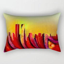 Twins - Marcello Cicchini Rectangular Pillow