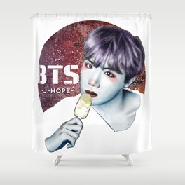 J-HOPE -BTS- Shower Curtain