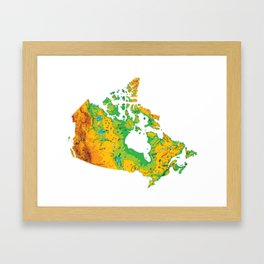 Physically Canada Framed Art Print