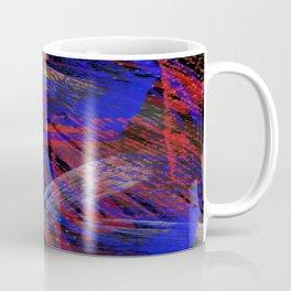 Abstract blue background Coffee Mug