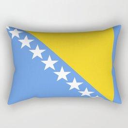 Flag of Bosnia and Herzegovina Rectangular Pillow