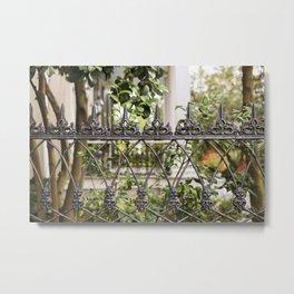 New Orleans Lush Garden Metal Print