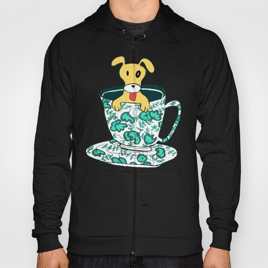 Dinnerware Sets - puppy in a teacup Hoody