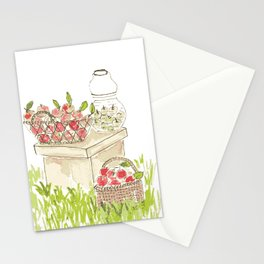 Apple Baskets Stationery Cards