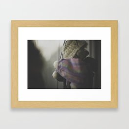 Clown Puppet Framed Art Print