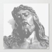 jesus Canvas Prints featuring Jesus by Geni