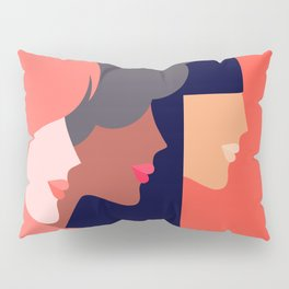 Together, we can  #girlpower Pillow Sham