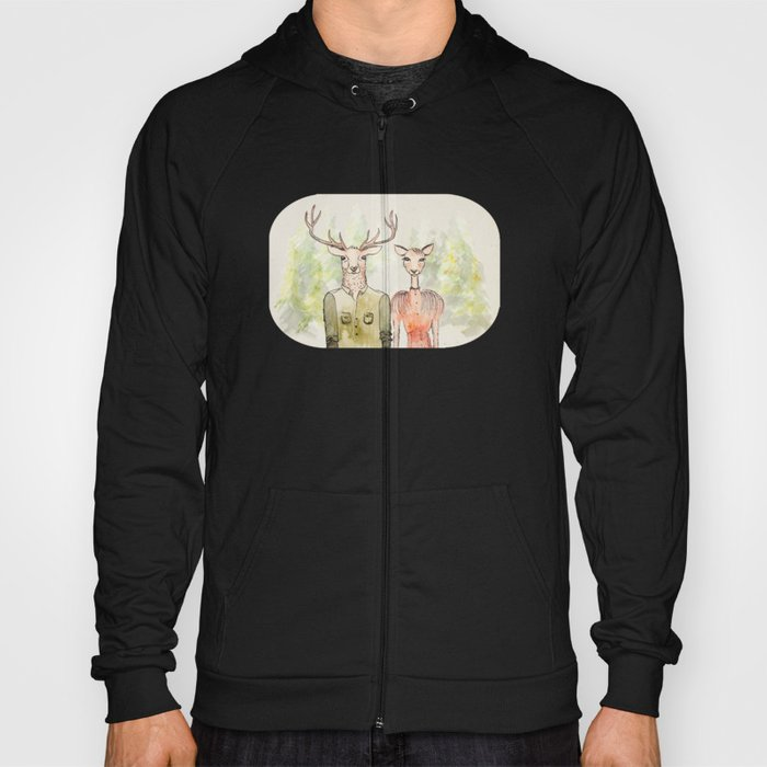 Together in Happy Land Hoody