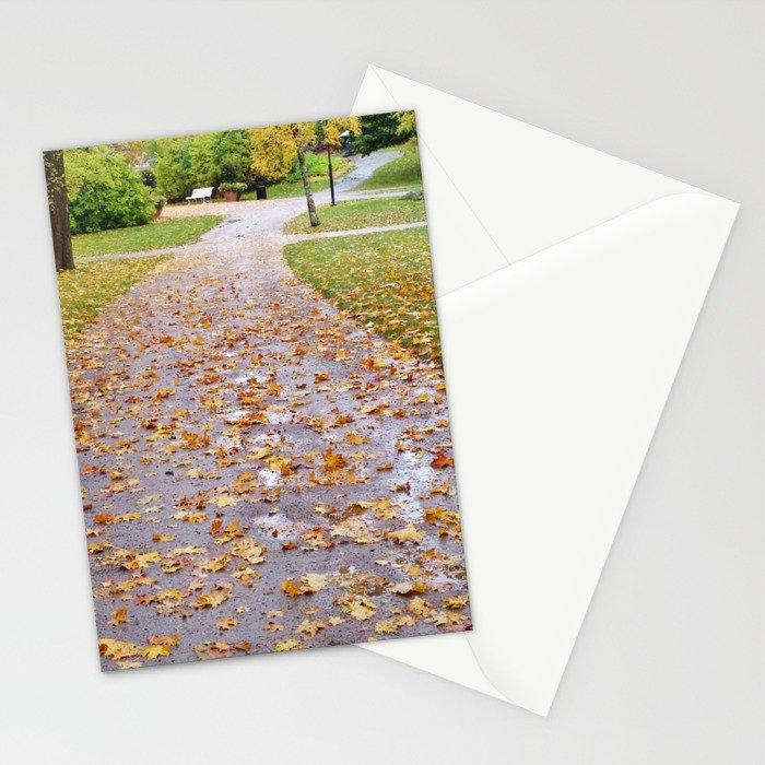 October 1 Stationery Cards