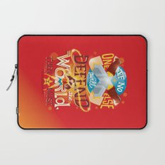 Defend the world Laptop Sleeve