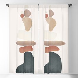 Balancing Stones 27 Blackout Curtain