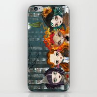 oz iPhone & iPod Skins featuring Oz Girls by Sandra Vargas