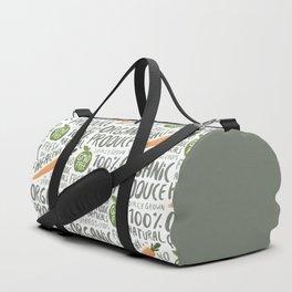 Organic Produce Duffle Bag