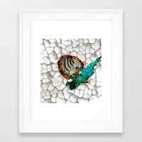 fairy tail Framed Art Prints featuring Fairy Tail Tattoo by Pierre Venter