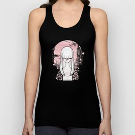 invisible girl Unisex Tank Top