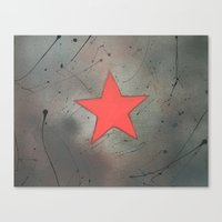 bucky Canvas Prints featuring Bucky by PeonyPaints
