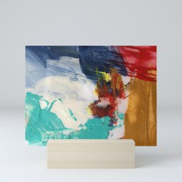 Abstract One by Nancy Smith Mini Art Print