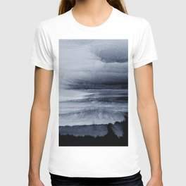 Abstract black painting 2 T-shirt